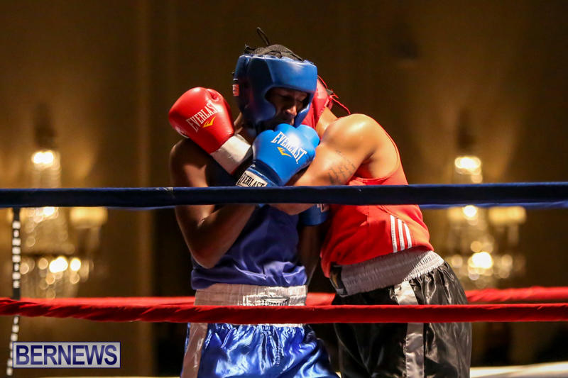 Keanu Wilson vs Courtney Dublin Boxing Match Bermuda, November 7 2015-11