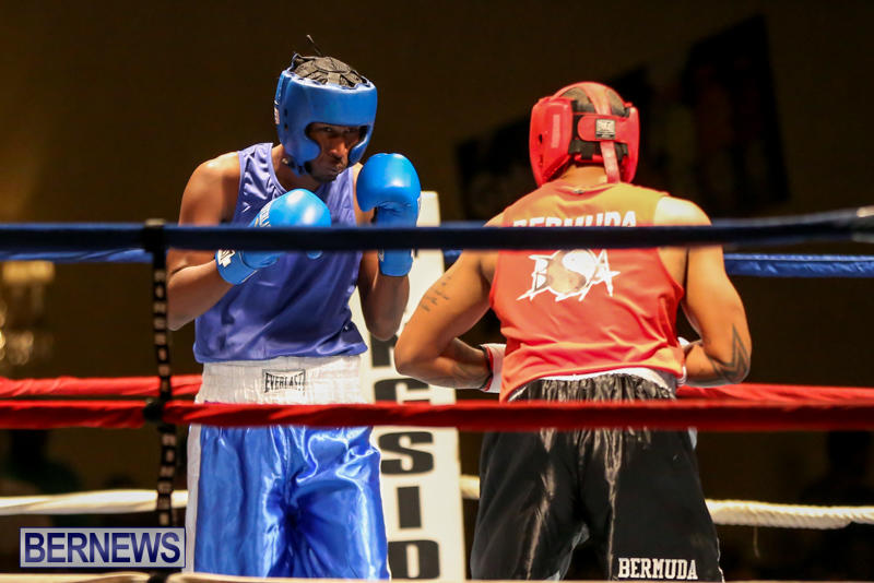 Keanu Wilson vs Courtney Dublin Boxing Match Bermuda, November 7 2015-2