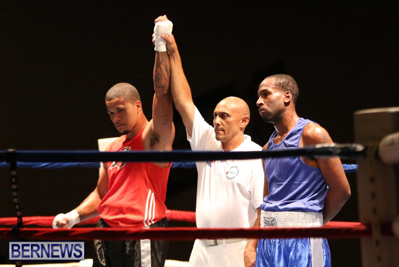 Keanu Wilson vs Courtney Dublin Boxing Match Bermuda, November 7 2015-20