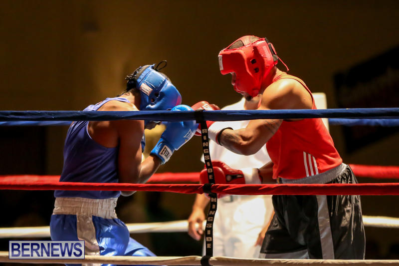 Keanu Wilson vs Courtney Dublin Boxing Match Bermuda, November 7 2015-5