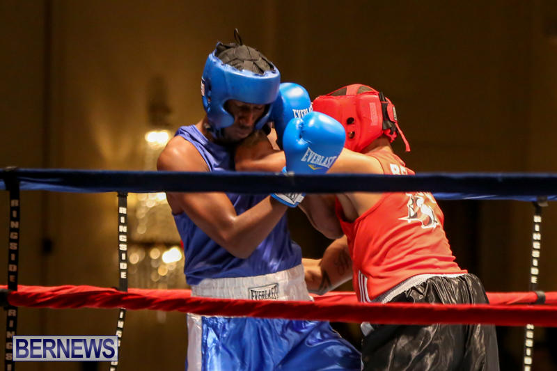 Keanu Wilson vs Courtney Dublin Boxing Match Bermuda, November 7 2015-7