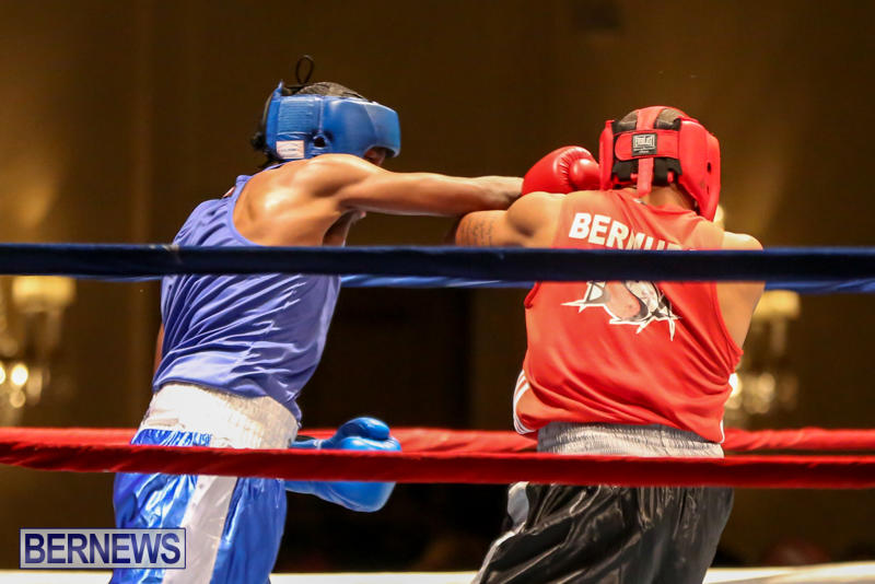 Keanu Wilson vs Courtney Dublin Boxing Match Bermuda, November 7 2015-9