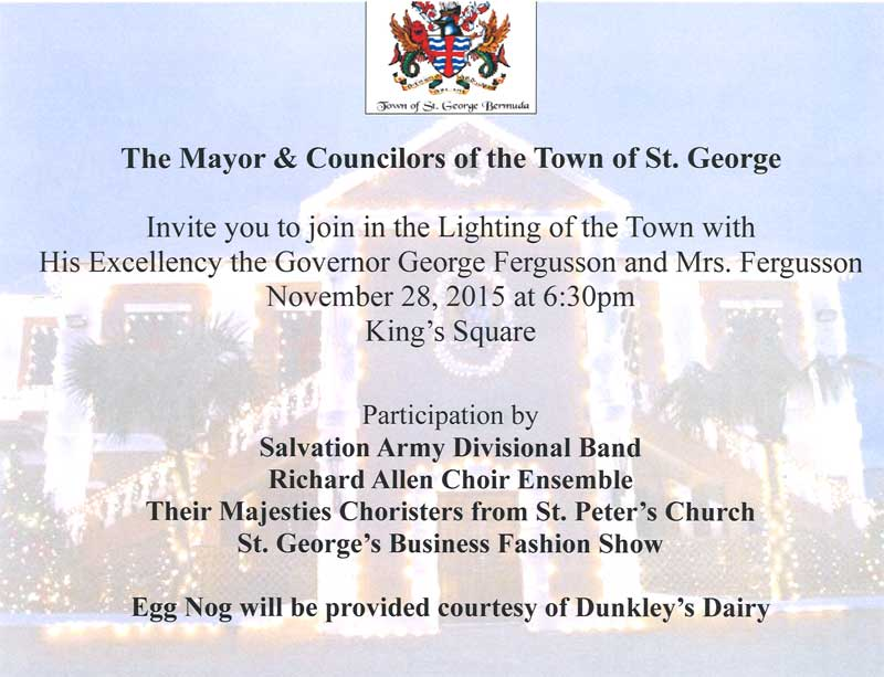 Lighting of Town Poster