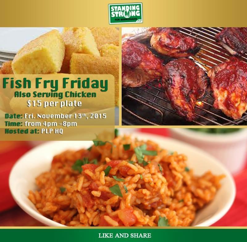 PLP Fish Fry Friday 09 Nov