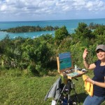 Plein Air Competition Bermuda Nov 24 2015 (12)