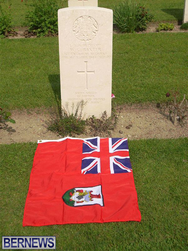 Pte Baxter Buried In Italy 2