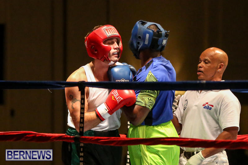 Raul Vlad vs Jaylen Roberts Boxing Match Bermuda, November 7 2015-8