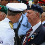 Remembrance Day Front Street Bermuda, November 11 2015-11