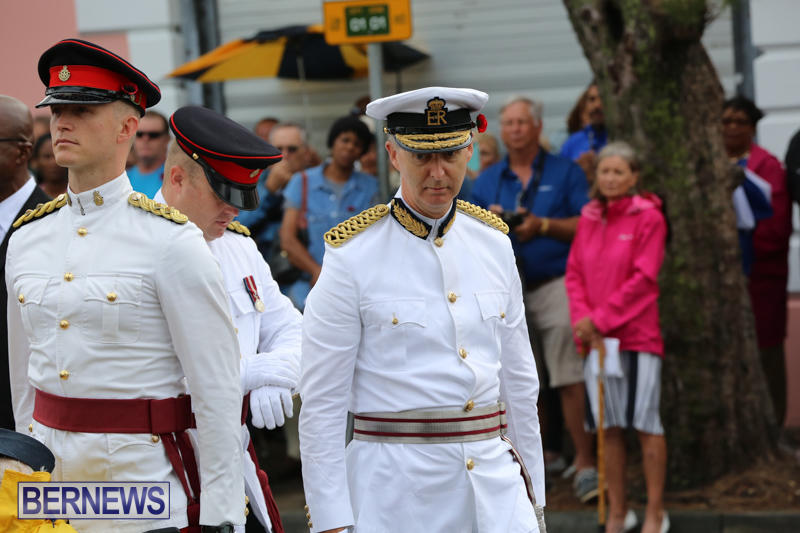 Remembrance-Day-Front-Street-Bermuda-November-11-2015-16