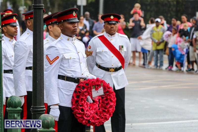 Remembrance-Day-Front-Street-Bermuda-November-11-2015-17