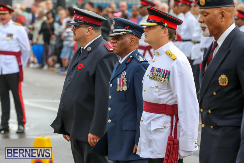 Remembrance-Day-Front-Street-Bermuda-November-11-2015-18
