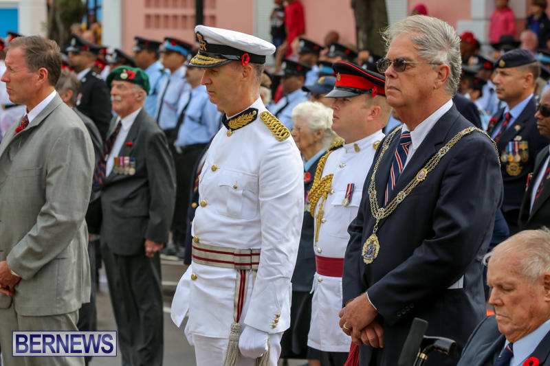 Remembrance-Day-Front-Street-Bermuda-November-11-2015-20