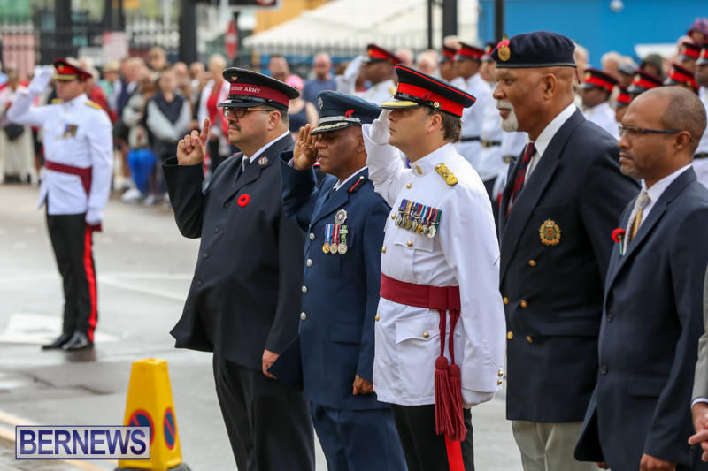 Remembrance-Day-Front-Street-Bermuda-November-11-2015-23