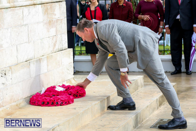 Remembrance-Day-Front-Street-Bermuda-November-11-2015-35
