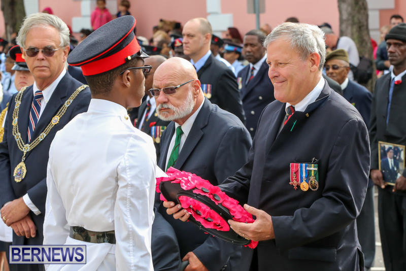 Remembrance-Day-Front-Street-Bermuda-November-11-2015-48