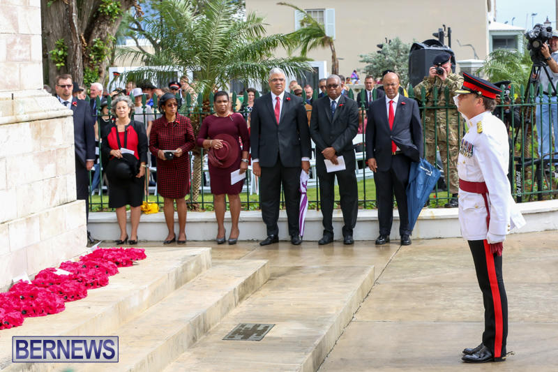 Remembrance-Day-Front-Street-Bermuda-November-11-2015-52