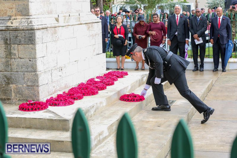 Remembrance-Day-Front-Street-Bermuda-November-11-2015-57