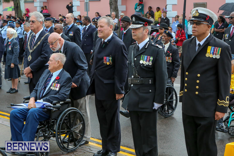 Remembrance-Day-Front-Street-Bermuda-November-11-2015-6