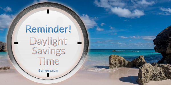Reminder! Daylight Savings Time 1c2