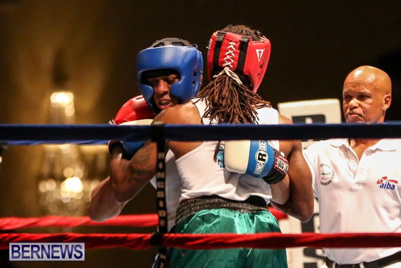 Robert King Somner vs Di'Andre Burgess Boxing Match Bermuda, November 7 2015-14