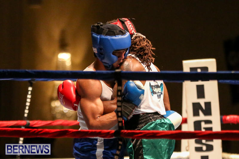 Robert King Somner vs Di'Andre Burgess Boxing Match Bermuda, November 7 2015-16