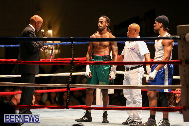 Robert King Somner vs Di'Andre Burgess Boxing Match Bermuda, November 7 2015-17