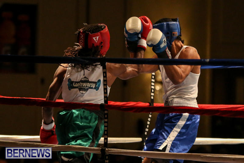 Robert King Somner vs Di'Andre Burgess Boxing Match Bermuda, November 7 2015-2
