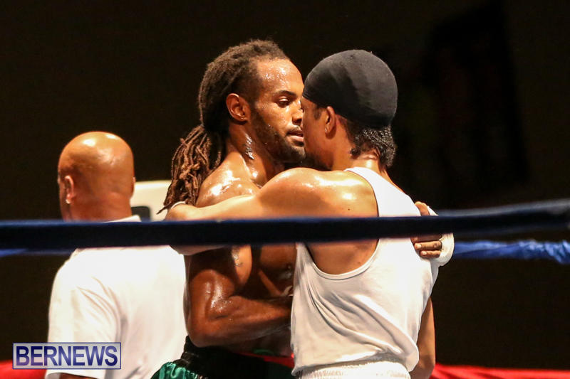 Robert King Somner vs Di'Andre Burgess Boxing Match Bermuda, November 7 2015-20