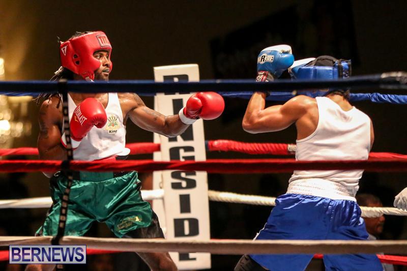 Robert King Somner vs Di'Andre Burgess Boxing Match Bermuda, November 7 2015-7