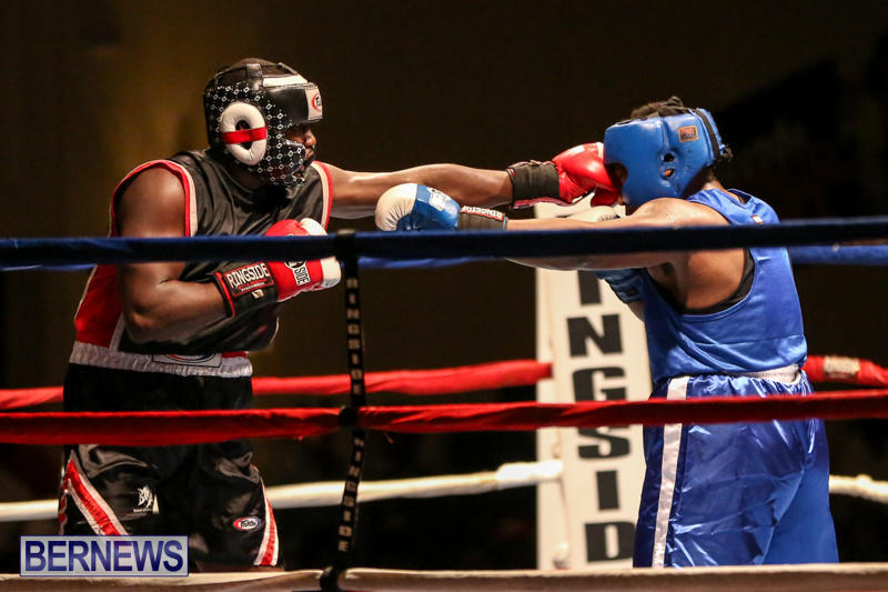 Shannon Ford vs Stefan Dill Boxing Match Bermuda, November 7 2015-15