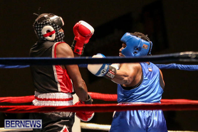 Shannon Ford vs Stefan Dill Boxing Match Bermuda, November 7 2015-5