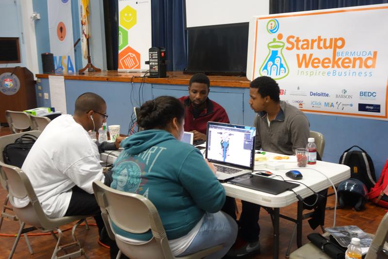 Startup Weekend Bermuda Nov 26 2015 (1)