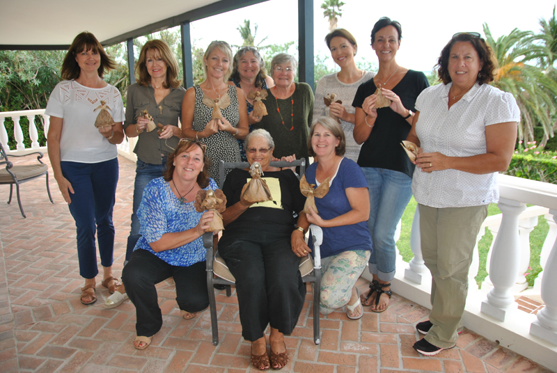 Two Charities Working Together To Make Banana Dolls Bermuda Nov 18 2015 (1)