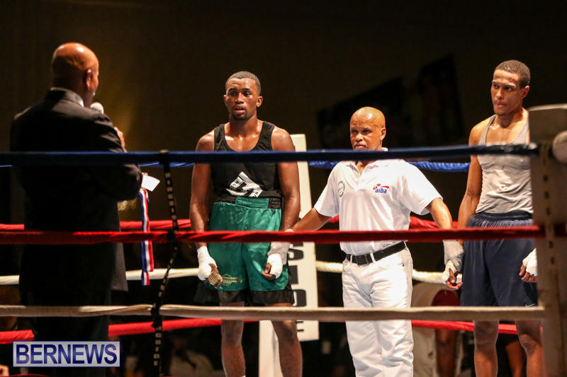 Tyler Christopher vs Kaya Simmons Boxing Bermuda, November 7 2015 (19)