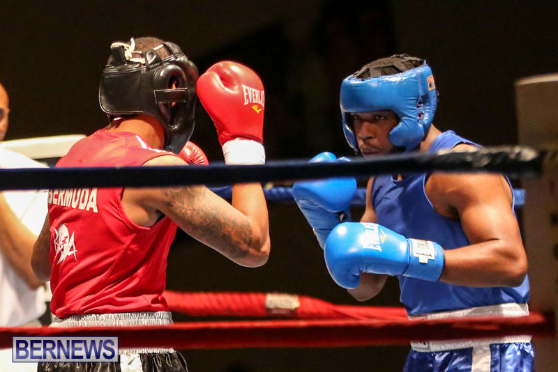 Zain Philpott vs Shomari Warner Boxing Match Bermuda, November 7 2015 (1)