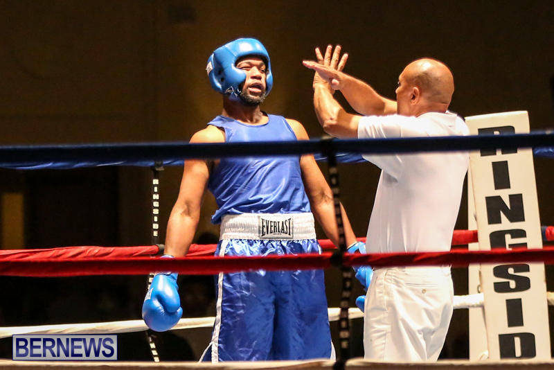 Zain Philpott vs Shomari Warner Boxing Match Bermuda, November 7 2015 (11)