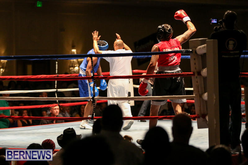 Zain Philpott vs Shomari Warner Boxing Match Bermuda, November 7 2015 (12)