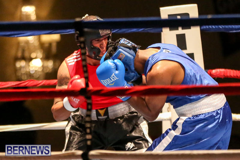 Zain Philpott vs Shomari Warner Boxing Match Bermuda, November 7 2015 (3)