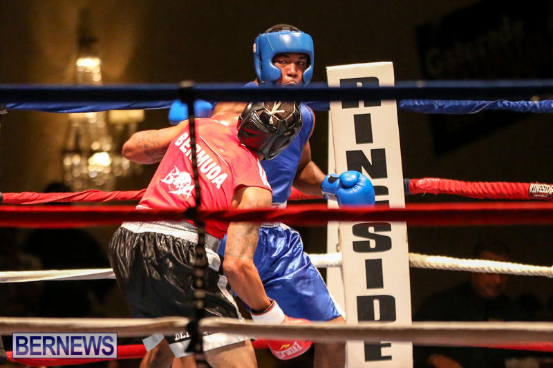 Zain Philpott vs Shomari Warner Boxing Match Bermuda, November 7 2015 (7)