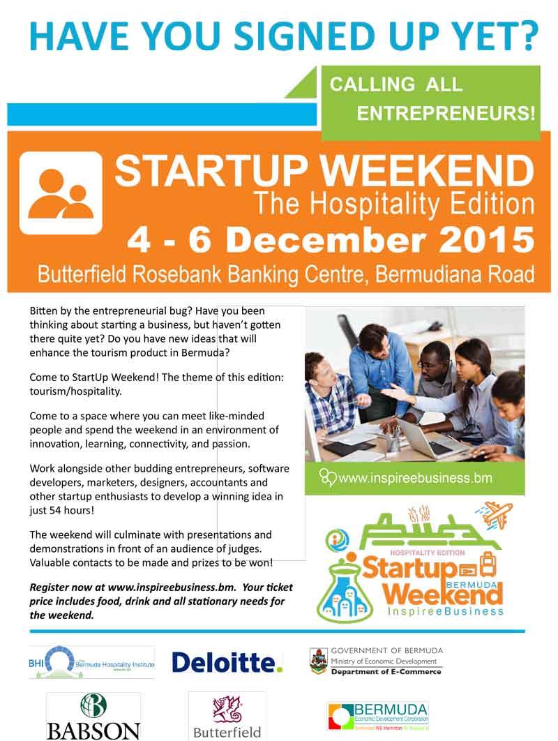 inspire ebusiness Startup Weekend_4-6 Dec