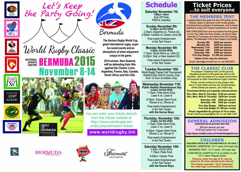 world rugby classic 2015 schedule bermuda