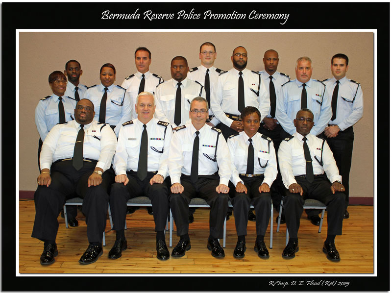 2015 Bermuda Reserve Police Appointment Ceremony Group Photo
