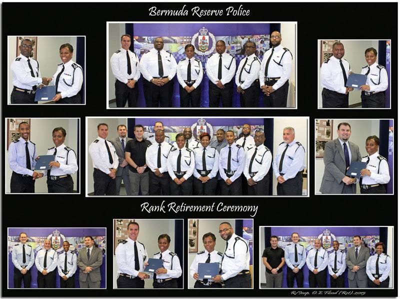 2015 Bermuda Reserve Police Rank Retirement Ceremony Photos