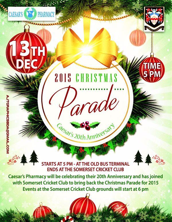 2015 Christmas Parade Bermuda Dec 8 2015