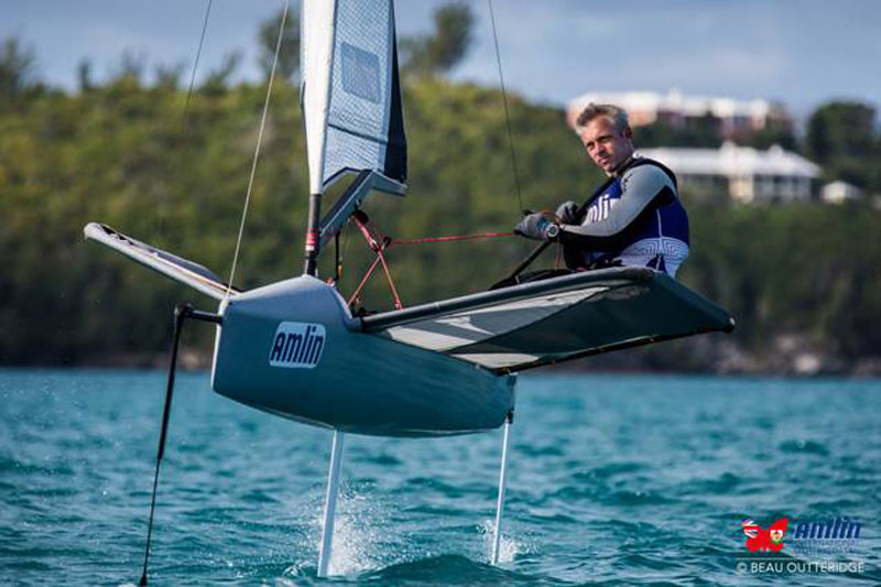 Amlin International Moth Regatta Day 4