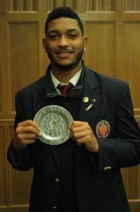 Athletic Awards Ceremony 11-17-15 Jahkeem Hunt