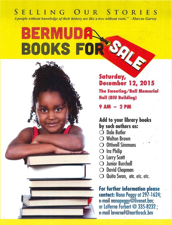 Book Sale Bermuda Dec 9 2015