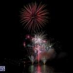 Fireworks At Boat Parade Bermuda, December 12 2015-6