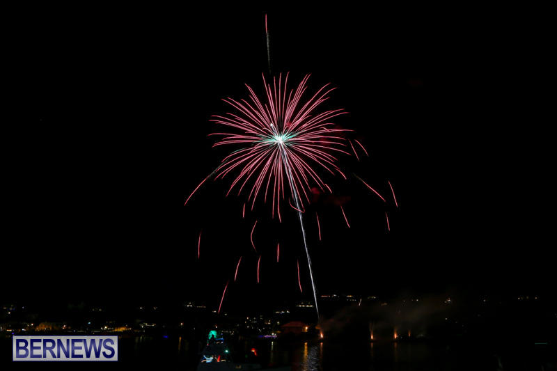 Fireworks-At-Christmas-Boat-Parade-Bermuda-December-12-2015-19