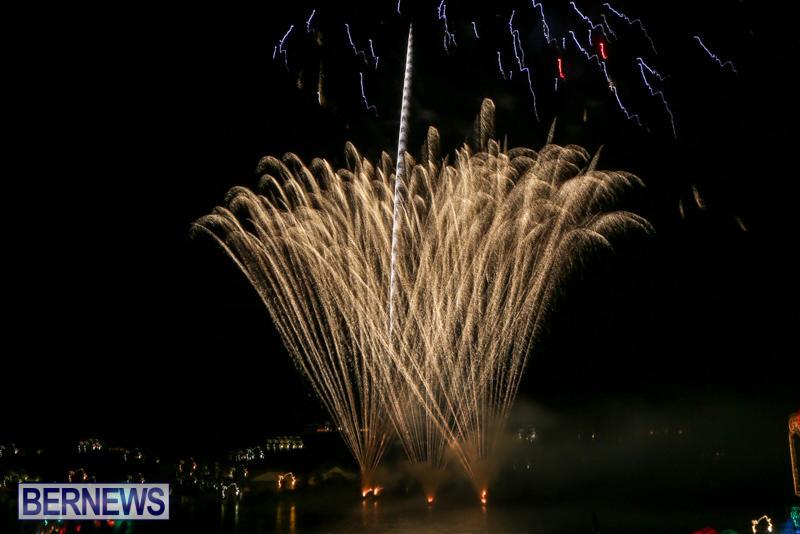 Fireworks-At-Christmas-Boat-Parade-Bermuda-December-12-2015-27